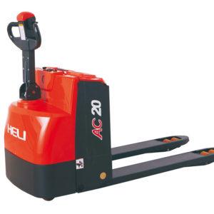 HELI battery powered walkie pallet truck