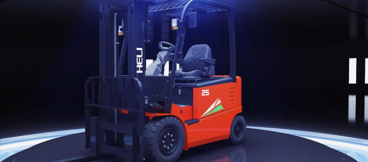Heli G series 1- 2.5 ton Electric Forklift Truck