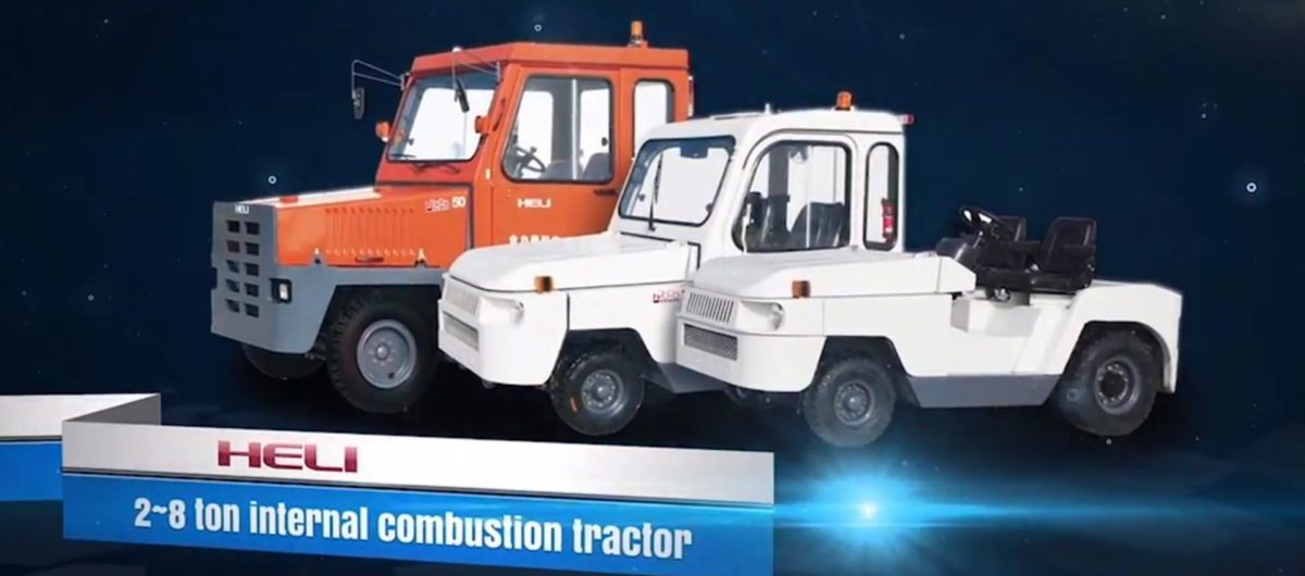 Heli G-Series 1.5 - 6 ton Electric Towing Tractors