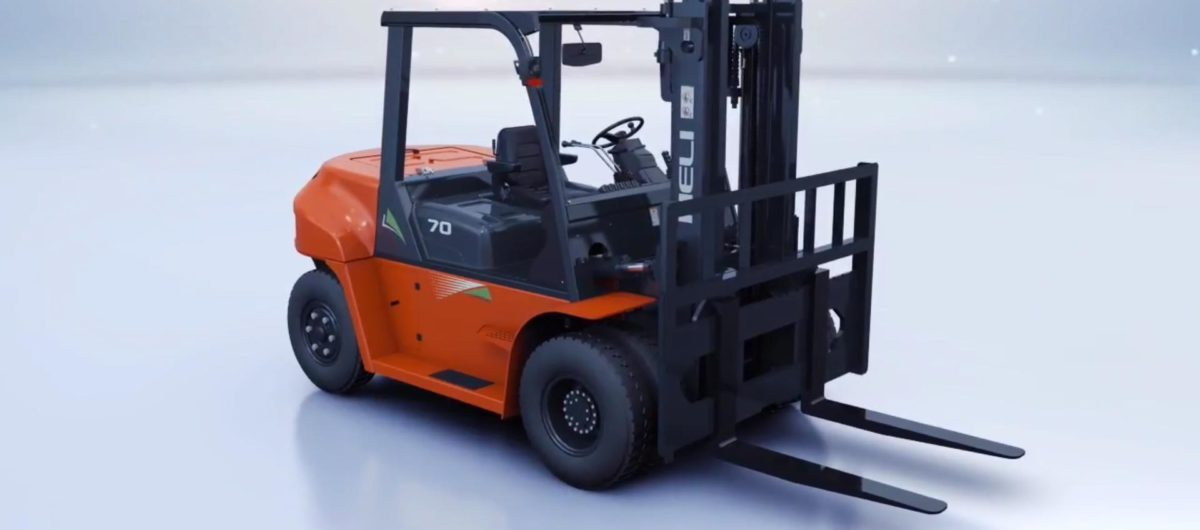 Heli G-series 5 - 10 ton Internal Combustion Counterbalance Forklifts