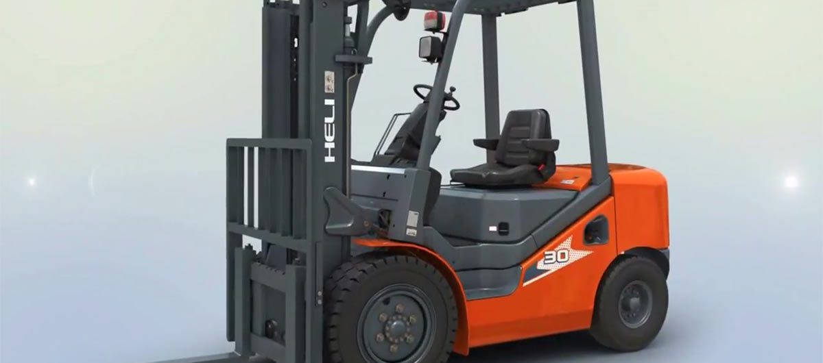 Heli New H Series IC Forklifts